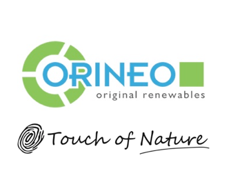 ORINEO and Touch of Nature Logos Vertical
