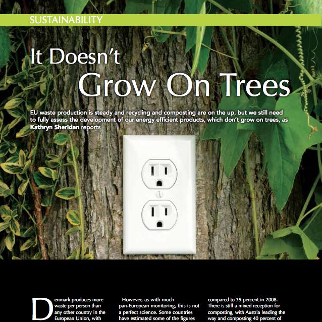 Kathryn Sheridan 'It Doesn't Grow on Trees' in CIWM April 2011